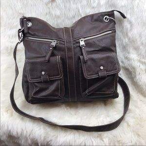 Relic Brown Shoulder Bag